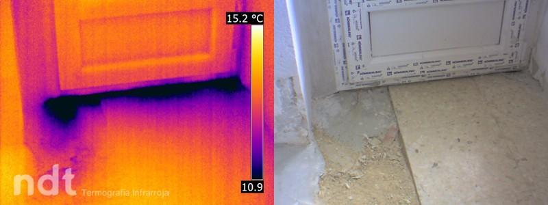 Zona fría en vivienda