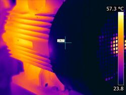 Las imágenes térmicas de los motores eléctricos muestran sus condiciones de funcionamiento a través de la temperatura de superficie